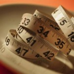 weight loss - tape measure